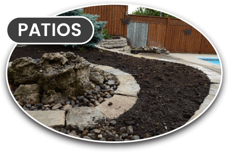 Patios and stone landscape design